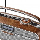 Digital DAB + radio | 60 W | FM | Bluetooth® | Brun/sølvfarge thumbnail
