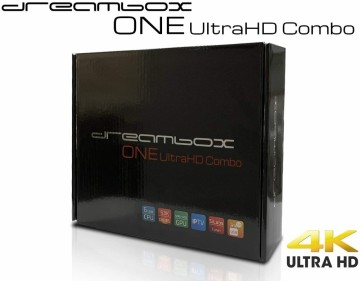 DREAMBOX ONE ULTRA-HD COMBO 4K DVB-T2/C TUNER